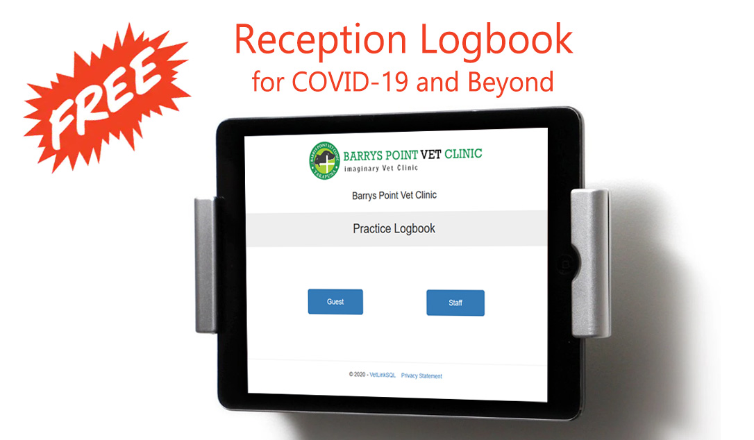 Free Reception Logbook for COVID-19 and Beyond